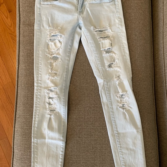American Eagle Outfitters Denim - America Eagle Super Low Jegging Jeans